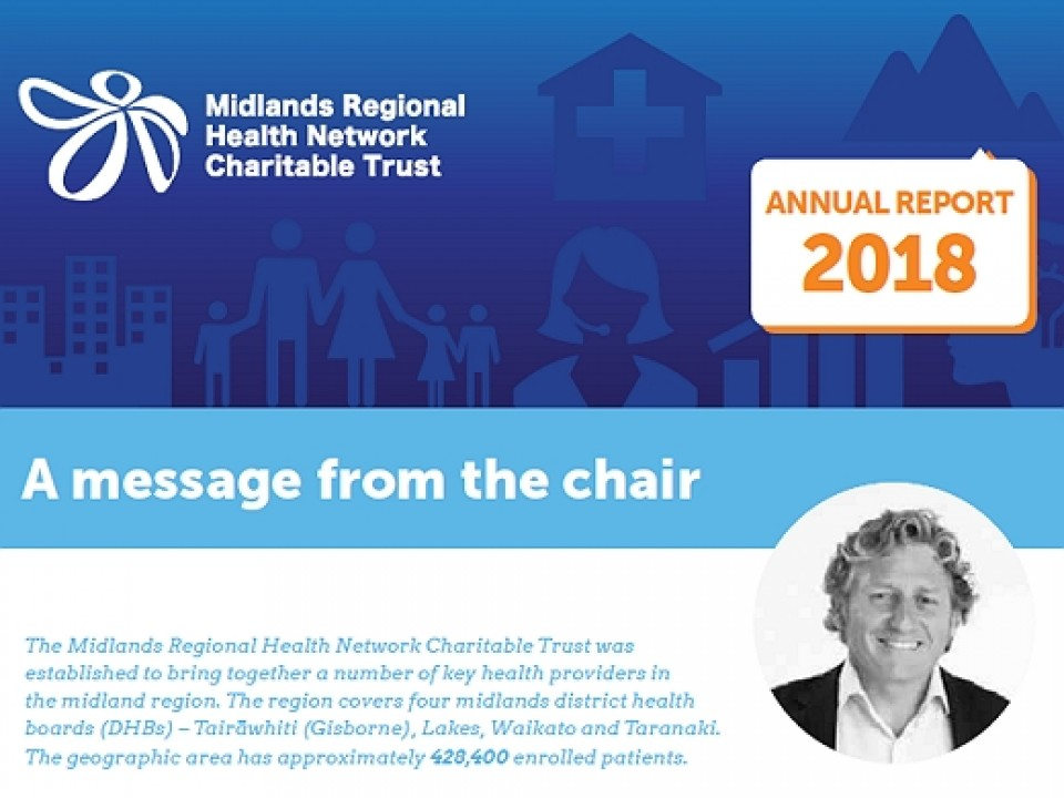 2018 Midlands Regional Health Network Charitable Trust Annual Report