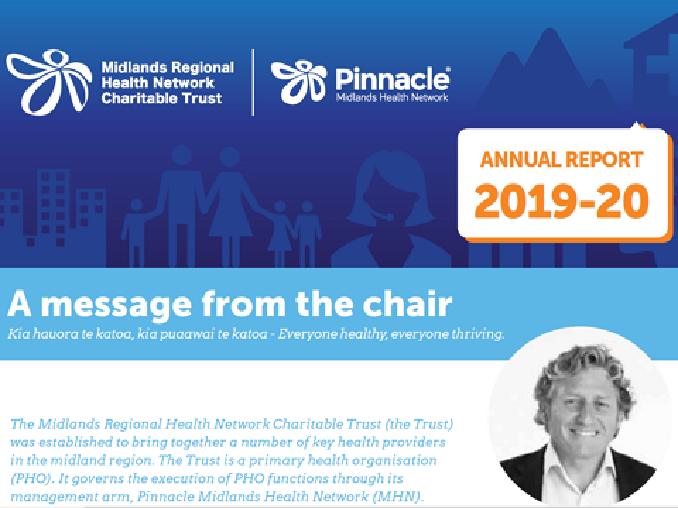 2019-20 Midlands Regional Health Network Charitable Trust Annual Report