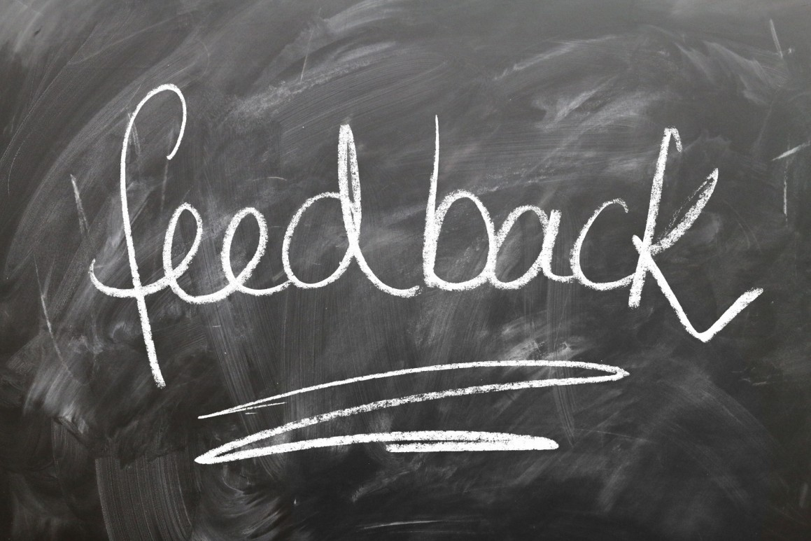 How to give feedback on your experience